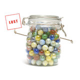 Lost Your Marbles stock photos