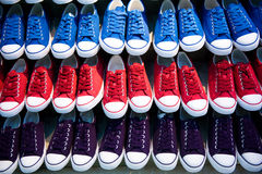Losts of shoes stock image
