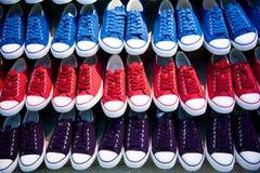 Losts van schoenen stock afbeelding