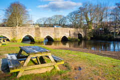 Lostwithiel Cornwall England Stock Image
