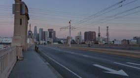 LOSU ANGELES świt zbiory wideo