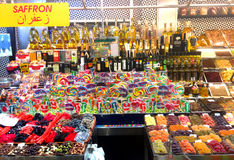 Losu Angeles boqueria rynek - Barcelona Obraz Stock