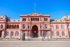 Losu Angeles Casa Rosada, Buenos Aires Zdjęcie Stock