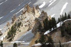 Losu Angeles Casse déserte, Queyras Naturalny park w Francja zdjęcia royalty free