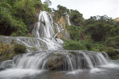 Losu Angeles Conchuda siklawa w Chiapas, Meksyk Fotografia Stock