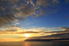 Losu Angeles Gomera wyspa Fotografia Stock