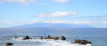 Losu Angeles Gomera wyspa Obrazy Royalty Free