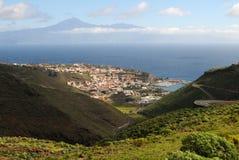 Losu Angeles Gomera wyspy kanaryjska San Sebastian Zdjęcie Royalty Free
