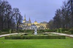 Losu Angeles Granja De San Ildefonso Pałac Królewski Zdjęcie Royalty Free