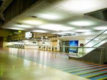 Losu Angeles Guaira Vargas stan, Wenezuela/08/11/2018 lotnisko międzynarodowe Simon Bolivar Maiquetia artykułów wstępnych obraz stock
