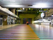 Losu Angeles Guaira Vargas stan, Wenezuela/08/11/2018 lotnisko międzynarodowe Simon Bolivar Maiquetia artykułów wstępnych fotografia stock