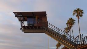 Losu Angeles Jolla brzeg ratownik Fotografia Stock