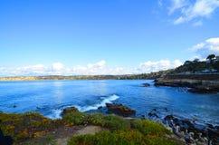 Losu Angeles Jolla zatoczka zdjęcia royalty free