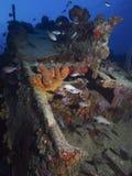 Losu Angeles Machaca wrak blisko kumpel ` s rafy, Bonaire, holandie Antilles Obrazy Stock