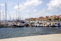 Losu Angeles Maddalena schronienie - Sardinia Fotografia Stock