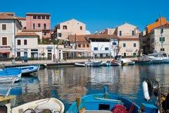 Losu Angeles Maddalena wyspa, Sardinia, Włochy Obraz Stock