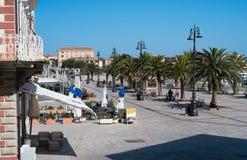 Losu Angeles Maddalena wyspa, Sardinia, Włochy Obrazy Stock