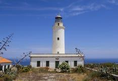 Losu Angeles Mola latarnia morska Formentera Obrazy Royalty Free