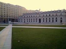 Losu Angeles Moneda pałac, Santiago, Chile Fotografia Stock