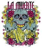 Losu Angeles muerte modlitwa royalty ilustracja