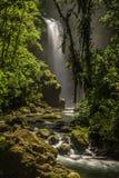 Losu Angeles Paz siklawy w tropikalnym lesie deszczowym obrazy royalty free