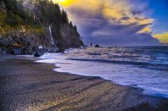 losu angeles plażowy pchnięcie Zdjęcia Royalty Free