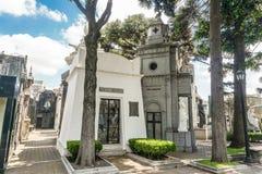 Losu Angeles Recoleta cmentarz - Ameryka Południowa zdjęcie stock
