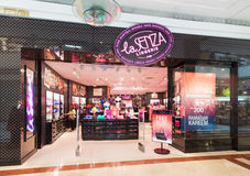 Losu Angeles Senza bielizny sklep w Suria KLCC, Kuala Lumpur Zdjęcia Royalty Free