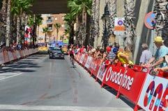 Losu Angeles Vuelta Espana czasu Próbna loteryjka Soudal Fotografia Stock
