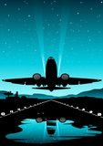 lotów międzynarodowych royalty ilustracja