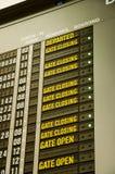lotów rozkłady Obrazy Stock