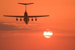 Lot ładunku samolot Obrazy Stock