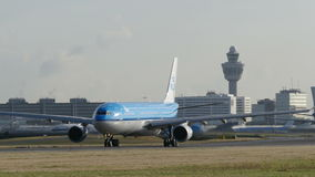 A lot of airplane Taxi at schiphol netherlands
