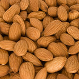 Lot of almonds Royalty Free Stock Image