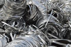 Lot aluminum tape Stock Photos