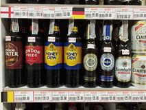 Lot of beer Stock Photo