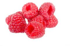 It is a lot of berries of a raspberry Royalty Free Stock Photography