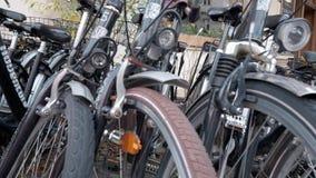 Bikes stock video