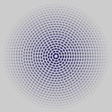 Circles on a gray background. A lot black circles into each other leaving in a distance equal to the thickness of all lines vector illustration
