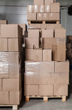 A lot of boxes Stock Images