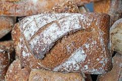 Freshly baked, fragrant, soft and spiky bread. Stock Photos