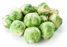 Lot of brussels sprouts. Stock Photo