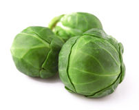 Lot of brussels sprouts. Royalty Free Stock Photography
