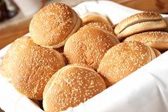 Lot of burger Royalty Free Stock Photo
