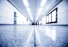 Lot of Business People in underpass Royalty Free Stock Photography