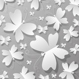 It is a lot of butterflies from paper Stock Photography