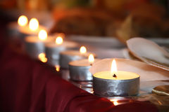 Wedding Candles Royalty Free Stock Photography