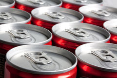 Soda cans Stock Photos