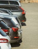 Lot of cars. Royalty Free Stock Photography