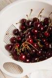 A lot of cherries , close-up Stock Photos